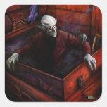 Dracula Nosferatu Vampire Square Sticker
