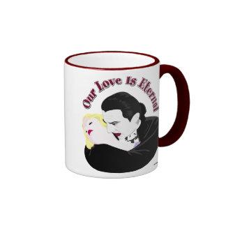 Drácula, nuestro amor es eterno taza de café