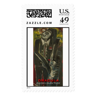 dracula  postage stamps