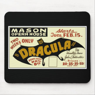DRACULA Poster Mouse Pad