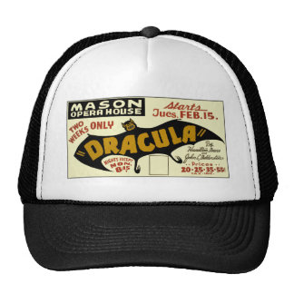 DRACULA Poster Trucker Hat