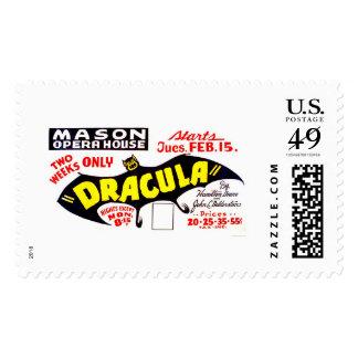 Dracula Presentation 1938 WPA Postage