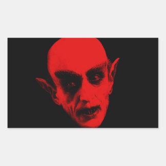 Dracula Rectangular Sticker