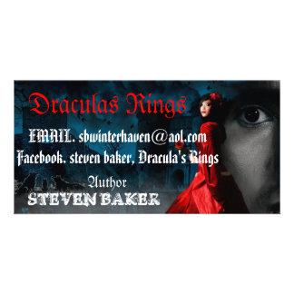 DRACULA RINGS PHOTO CARD