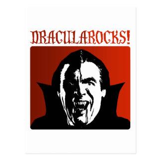 Dracula Rocks! Postcard