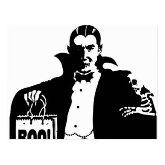 Dracula s Happy Halloween Post Card