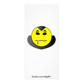 Dracula Smiley Rack Card