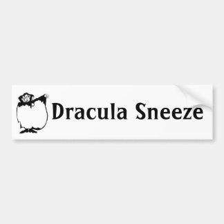 Dracula Sneeze Bumper Stickers
