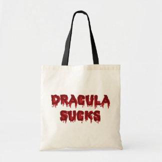 Dracula Sucks Budget Tote Bag