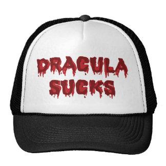 Dracula Sucks Trucker Hat