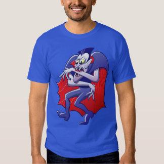 Drácula tiene desesperadamente hambre camisas