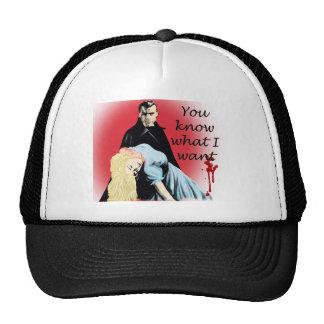 Dracula Trucker Hats