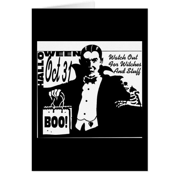 Dracula Vampire Card