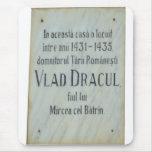 Drácula vivió aquí alfombrilla de ratón