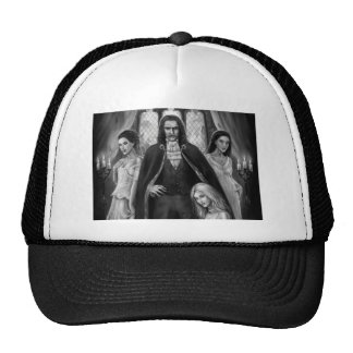 Drácula y sus señoras gorras