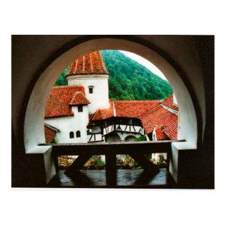Dracula's Castle, Bran, courtyard Postcard