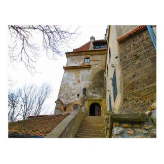 Dracula's Castle, Bran, Entrance Postcard