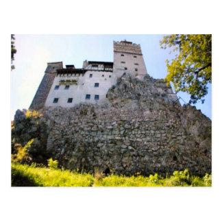 Dracula's Castle, Bran, Looking up Postcard