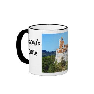 Dracula's castle, Bran, Transylvannia 2 Ringer Coffee Mug
