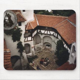 Dracula's castle, Bran, Transylvannia, in winter Mouse Pad
