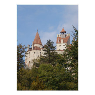 Dracula's castle,home to King Vlad Poster