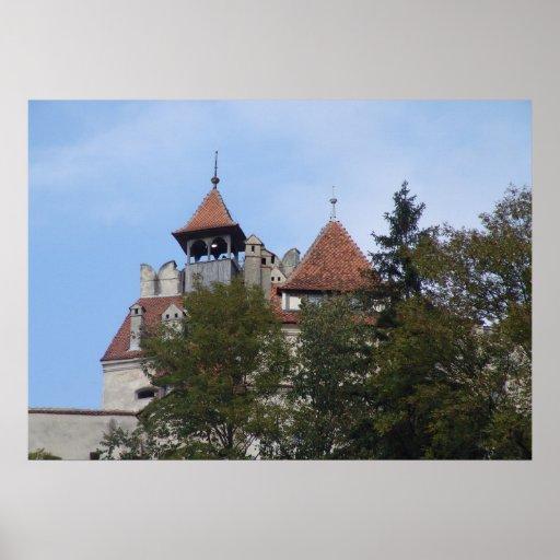Dracula's castle,lookout post print