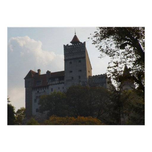 Dracula's castle,the dark side poster