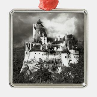Dracula's Castle, Transylvania Metal Ornament