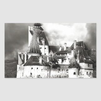 Dracula's Castle, Transylvania Rectangular Sticker