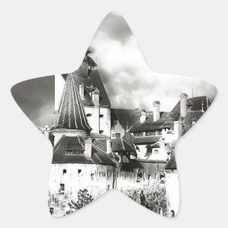 Dracula's Castle, Transylvania Star Sticker