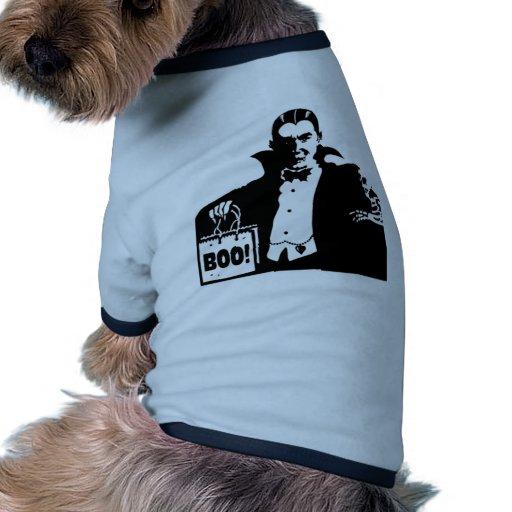 Dracula's Happy Halloween Doggie Tee Shirt