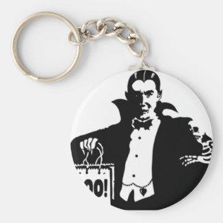 Dracula's Happy Halloween Keychains
