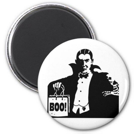 Dracula's Happy Halloween Magnet