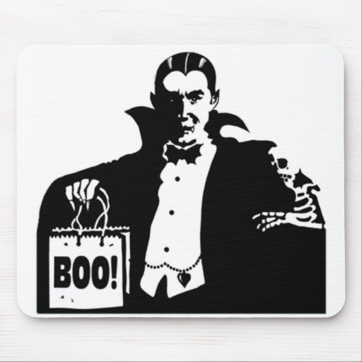 Dracula's Happy Halloween Mousepads
