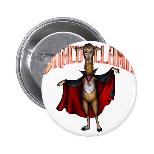 Dracullama Pinback Button