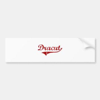Dracut Massachusetts Classic Design Car Bumper Sticker