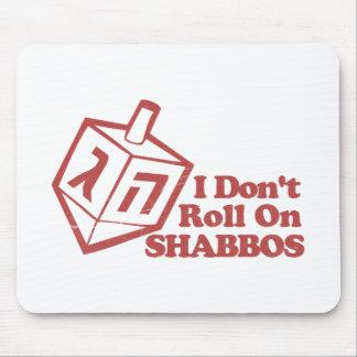 Draddle no rueda Shabbos Alfombrilla De Ratones