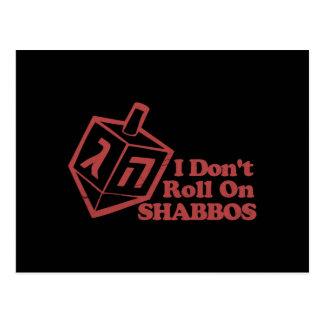 Draddle Roll Shabbos Postcard