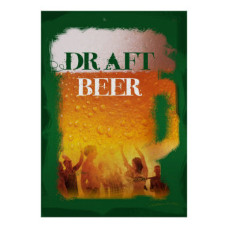 Draft Beer Poster
