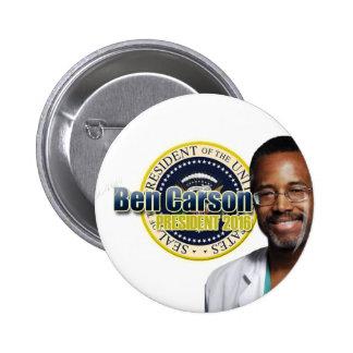 Draft Ben Carson for President Pinback Button