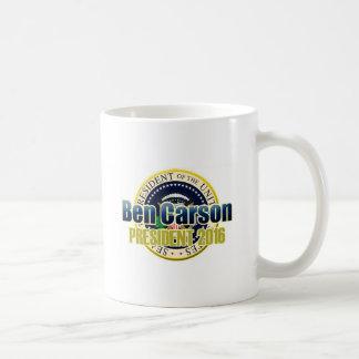 Draft Benjamin Carson for President Coffee Mugs