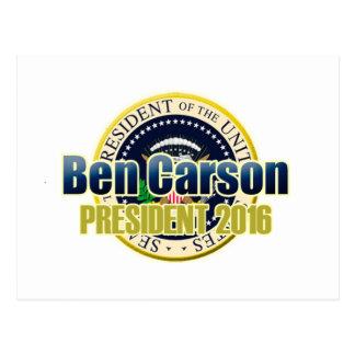 Draft Benjamin Carson for President Postcard