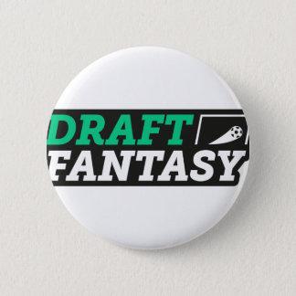 Draft Fantasy Gear Pinback Button