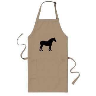 Draft Horse (black) Long Apron