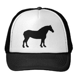 Draft Horse (black) Trucker Hat
