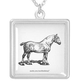 Draft Horse Custom Necklace