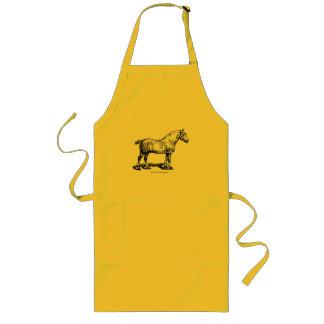 Draft Horse -- Dappled Long Apron