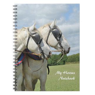 Draft horse enthisiasts notebook