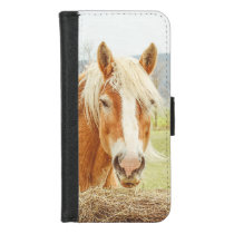 Draft Horse Farm Animal iPhone 8/7 Wallet Case