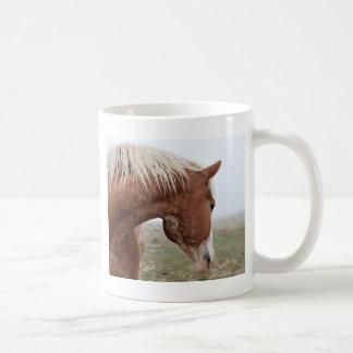 Draft Horse in the Mist - Stunning Western Coffee Mug